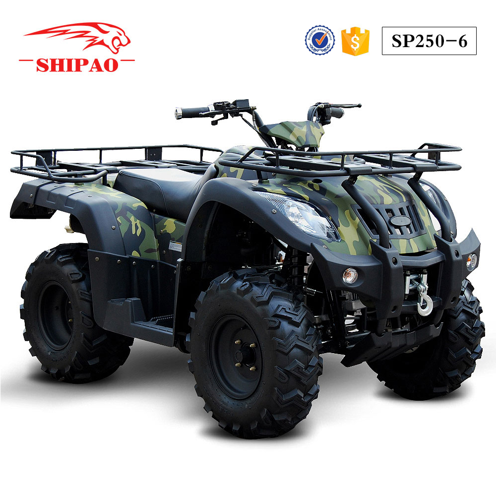 SP250-6 Shipao Multi-fonction atv for police army