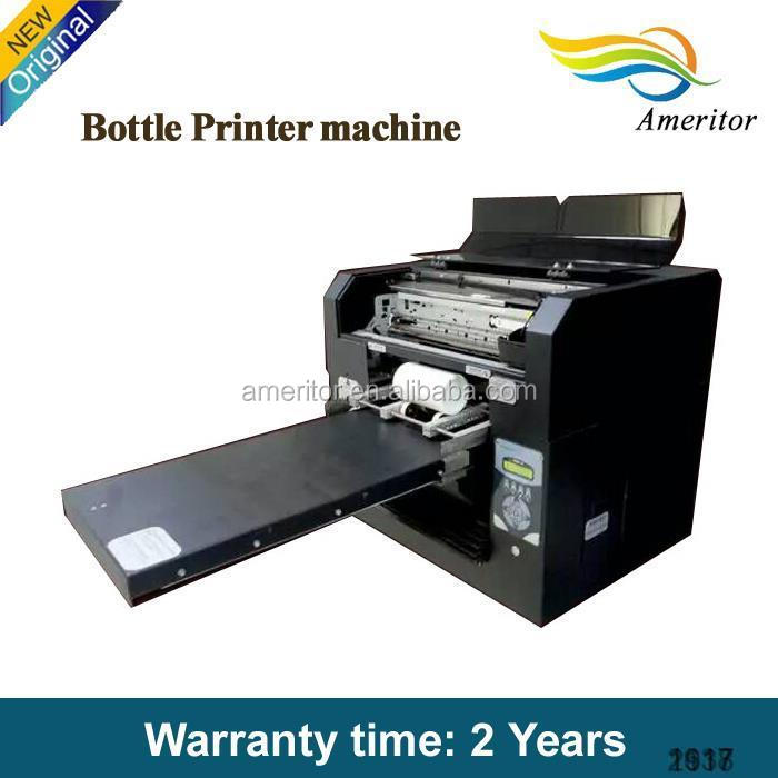 Cylinder Printing Machine Bottle Labeling Printer