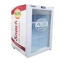 Glass Door Beverage Display Cooler of 70L