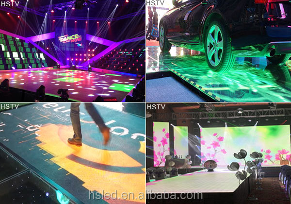 PH3.91 Indoor SMD Dance Floor LED Screen/led colorful dance floor