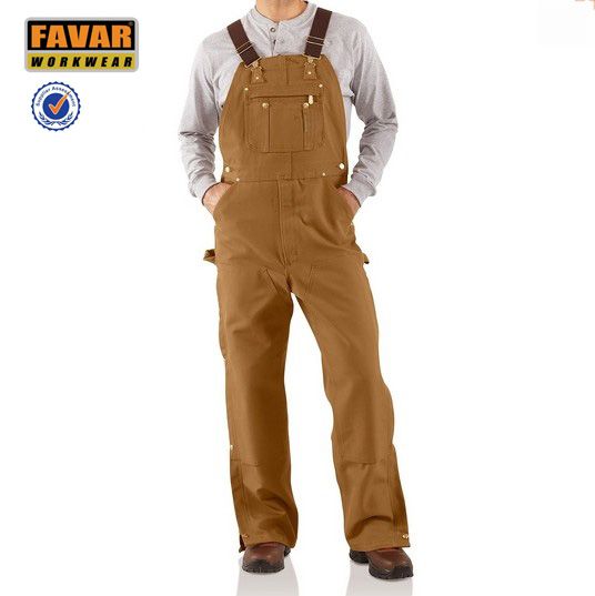 cotton fire resistant coverall bib coverall protective clothing