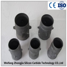 SiSic Radiation Pipe with High Thermal Conductivity Broadly Used in Steel and Melting Industry