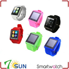 christmas smart watch u8 for iPhone 5 5S 6 6S Plus IOS Samsung S4 S5 S6 Note 5 Huawei Xiaomi Android Phone