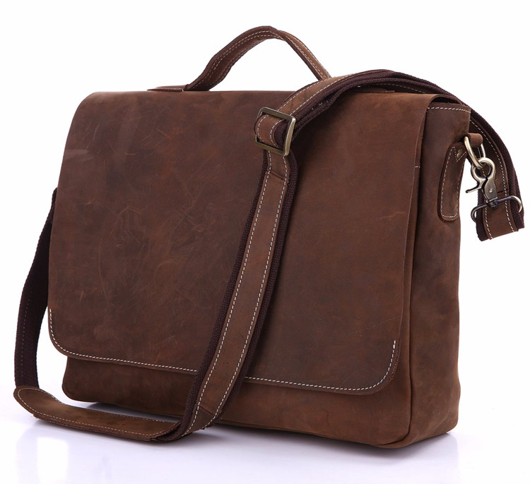 O.A Wholesale Business office Smart Brown Color Briefcase for Men