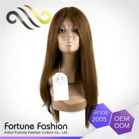 Casual Virgin Led Lace Styled Pre Caucasian Human Hair Wigs