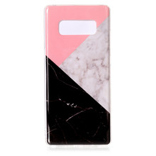 Newest Marble Design Soft TPU Silicon Decorative Phone Shell Cover Case for Samsung Galaxy Note 8