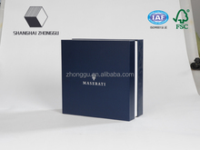 Customized paper box packaging, silver stamping top and bottom gift boxes, high quality with competitive