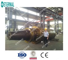 Hydraulic cylinder for 5000tons hydraulic press