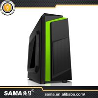 SAMA 2016 New Style High-End Atx/Micro Atx Computer Pc Case With Power Supply And Fans