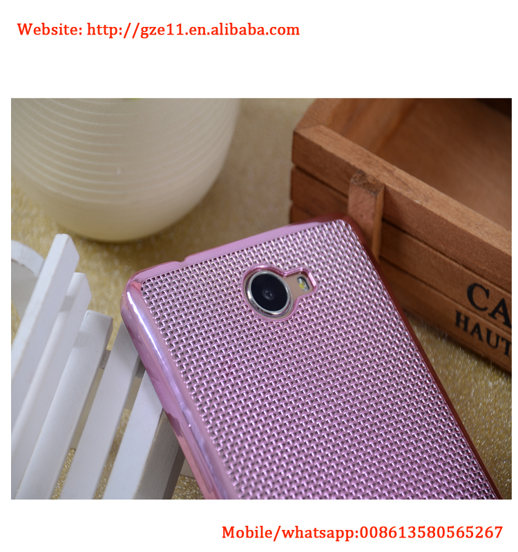 New pink mobile covers for infinix x600 box packing luxury phone cover