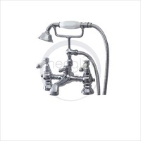 deluxe square waterfall bath shower mixer faucet