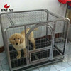 Wholesale Cheap Dog Cage With Plastic Tray & Luxury Square Tube dog Cage