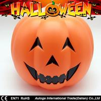 Plastic led light pumpkin craft with low MOQ