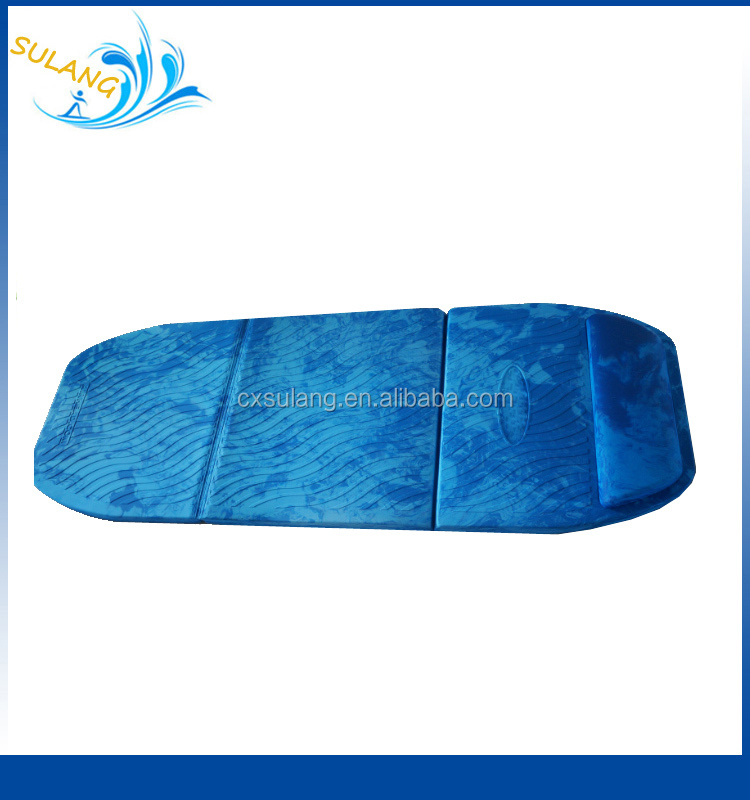 Pool Floats Vinyl Coated Dipping Foam Swimming Recreaton EVA Floating Mat For Adult Bed Mat