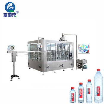 CE standard automatic mineral plastic plastic bottle water filling equipment