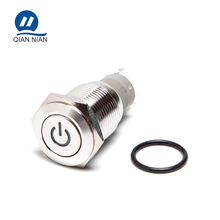 Best Price UL 16mm Power Port Latching Marine Push Button Switch