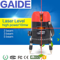 Upgrade GAIDE-BR 635nm 10mw level laser 5 lines 6 points