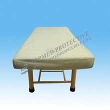 Hot Sale ! Medical use disposable bed cover, elastic laminated table cover waterproof