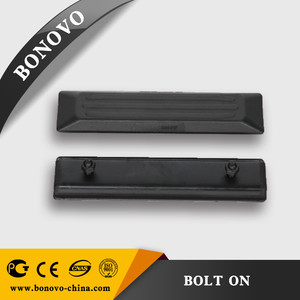 Excavator rubber track shoe pads 300*70*60 high quality supplier