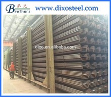 producer hot rolled u type sheet pile 400*125 400*170 stock