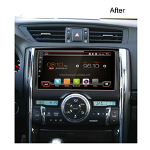 9 inch touch screen toyota reiz car dvd player with Navigation supports both synchronous playback radio