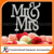 Hot sell Mrs & Mrs wedding cake topper for wedding decoration