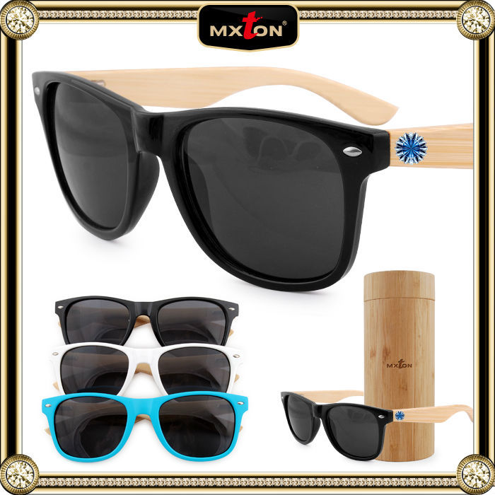 Fashion Plastic Frame Real Wood Sun Glasses from China Wholesale Sunglasses Market