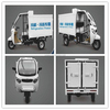 Best chill car Best chill triporteur refrigerator tricycle enclosed cabin tricycle with cargo box