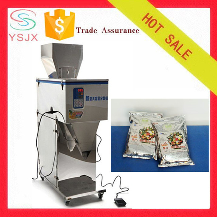 Semi automatic bag instant beverage packing machine