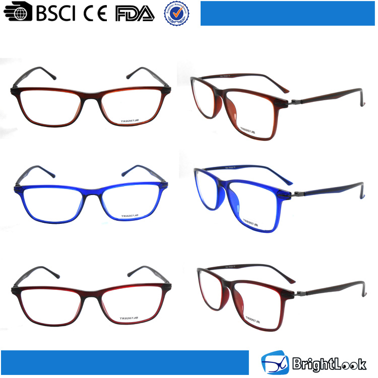 In stock no MOQ variety colored TR90 frame glasses frames optical