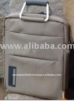 Grey Promotion Polyester Vertical Laptop Bag