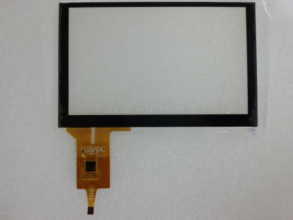 5 inch touch screen panel for car gps Navigation capacitive touch screen