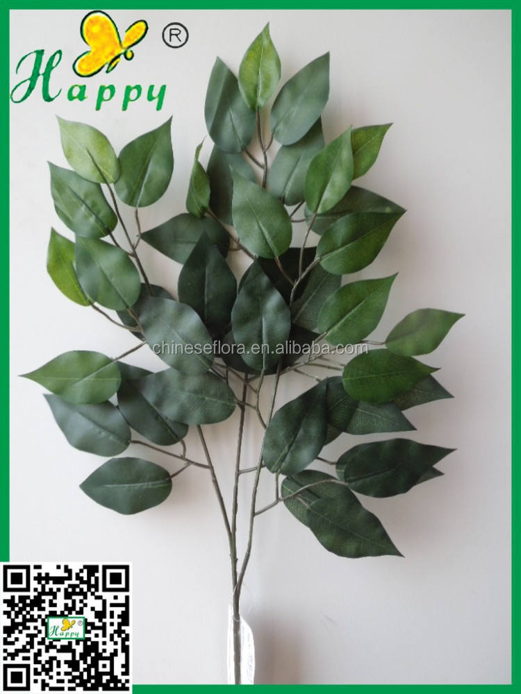 Artificial ficus leaves/artificial plant wholesale at low price