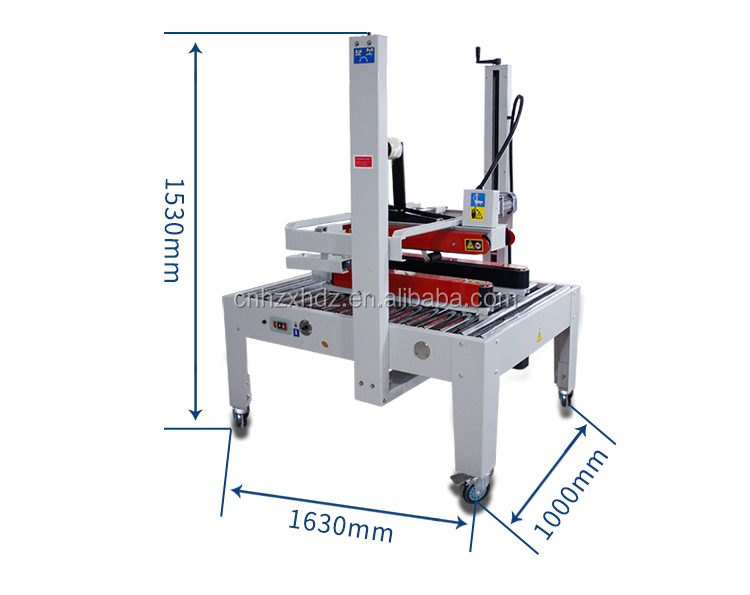 FXJ-8070B Semi-Auto Top & Bottom Driven Carton Sealer