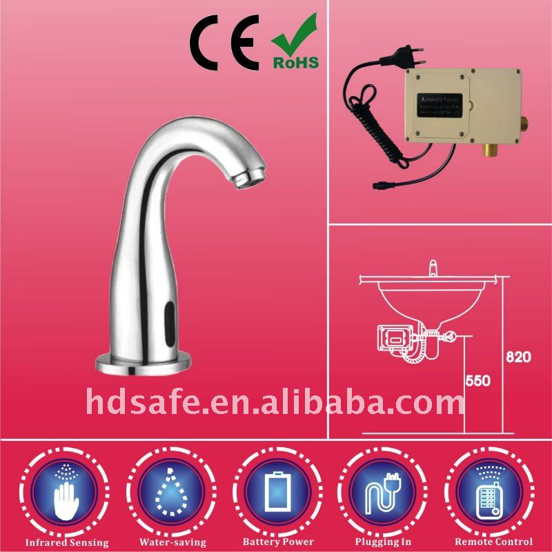 HD514AC/DC Self-closing Sensor Operation Faucet