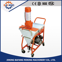 Automatic Wall Cement Rendering Putty Spray Plastering Machine