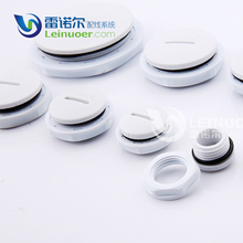 Alibaba Factory black and white end cap for electrical box