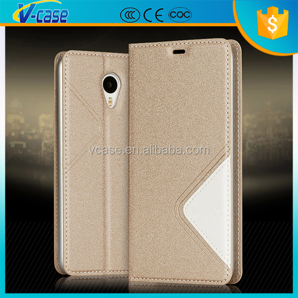 Slim Flip Luxury Leather Wallet Card Stand Case Cover For LG Optimus P705 L7