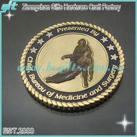 Free proof and design recognition gift Anniversary Challenge Coin