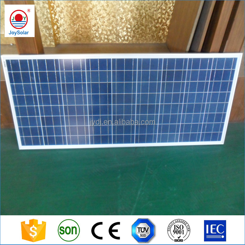 Polycrystalline Solar Panel 130w 12v Luminous Panel Solar Fabric