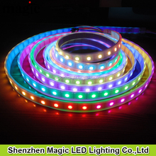 60Pixel/m 60leds/m 12V WS2812B rgb Flexible Addressable led strip