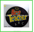 Hot sale cheap promotional gift custom plastic soft PVC coaster