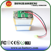 Good price high capacity lipo 18v 5200mah battery pack
