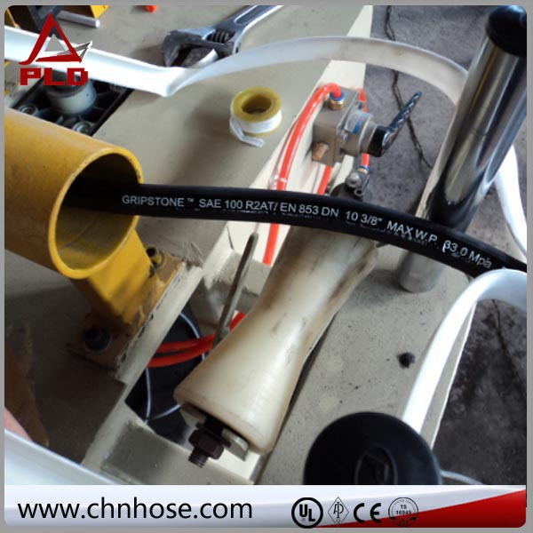 NBR material for crane ptfe convoluted braided hose