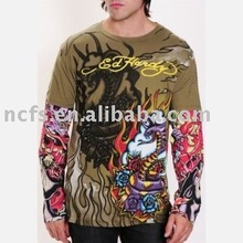 Hot! High quality Good price Printed Round Neck 2012 mens fashion t shirt
