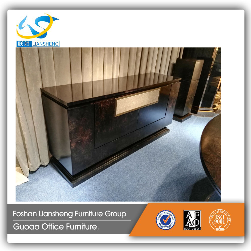 Good Quality Italian Veneer Living Room Furniture Sideboard