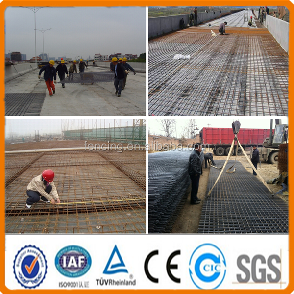 a393 wire mesh road cement reinforcement in concrete slabs