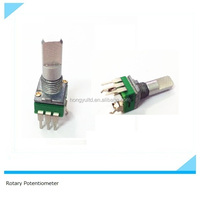 9mm size 100K horizontal rotary remote control potentiometer