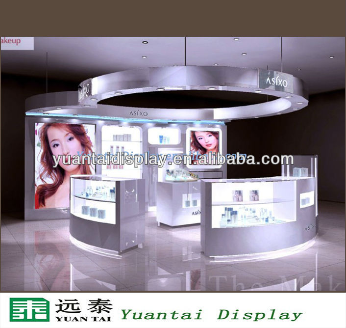 cosmetic display store