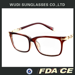 2015 wholesale metal and plastic eyeglasses fashion optical frame
